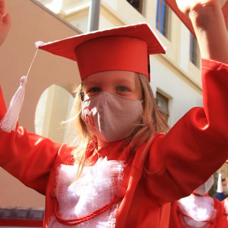Graduações das turmas de K5 e Year 5 encerram o ano letivo de 2020